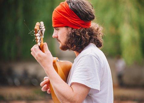People, Man, Male, Playing, Guitar, Musician, Musical
