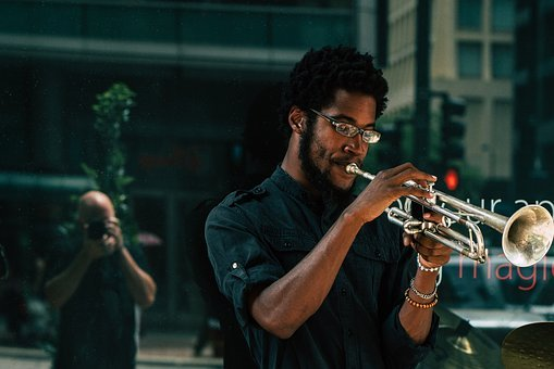 People, Men, Musician, Trumpet, Musical, Instrument