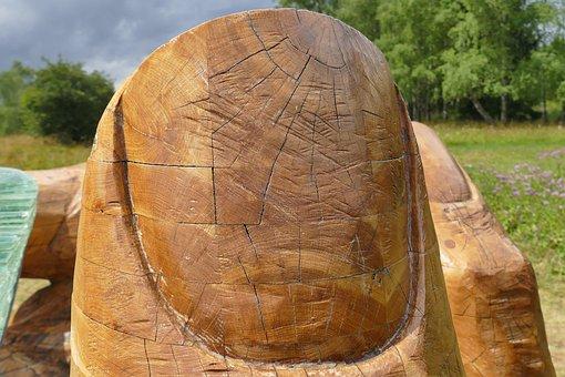 Wood, Wood Finger, Finger, Art, Carving, Noble, Gesture