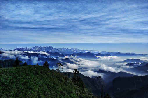 Gongga Mountain, Plateau, Natural Beauty