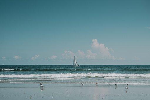 Sea, Ocean, Water, Wave, Nature, Beach, Coast, Horizon