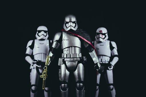 Star Wars, Storm Trooper, Costume, Figure