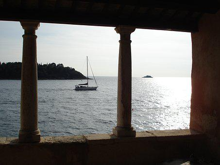 Vista, From The, Window In Porec