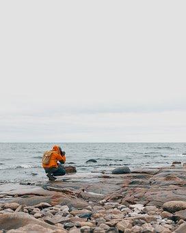 Sea, Ocean, Water, Wave, Nature, Coast, Rocks, Beach