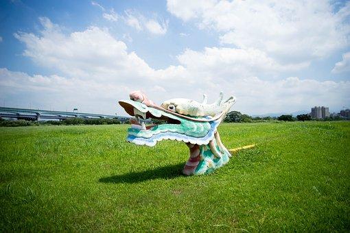 Green, Grass, Lawn, Art, Design, Playground, Nature