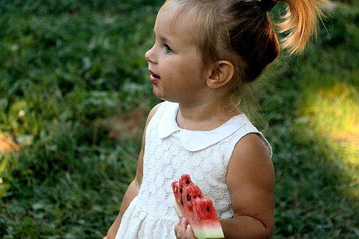People, Baby, Girl, Kid, Toddler, Child, Eating, Fruit