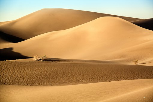 Geography, Desert, Landscape, Sand, Sky