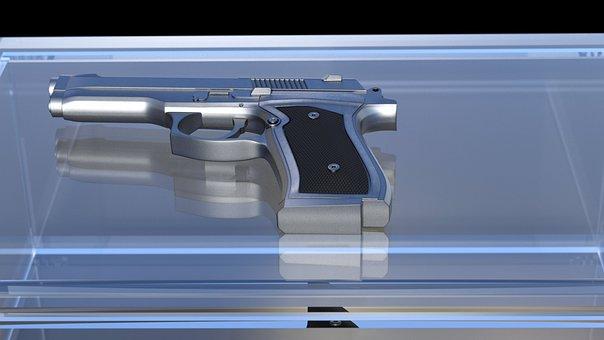 Pistol, Weapon, Hand Gun, Shoot, Gun, Crime, Dangerous
