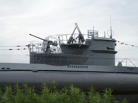 U Boat, Navy, Old, Military, Retired, Naval Forces