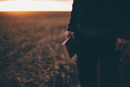 People, Man, Book, Nature, Outdoor, Sunset, Sunrise
