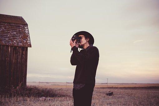 People, Man, Guy, Photographer, Camera, Photography