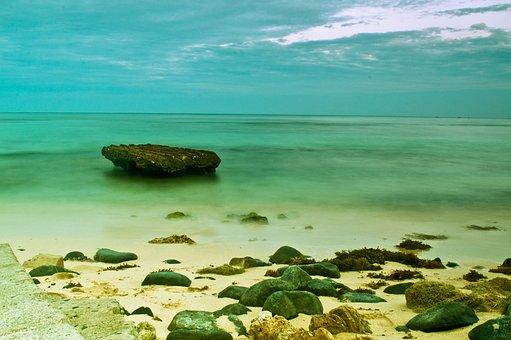 Sea, Ocean, Water, Wave, Nature, Rock, Sand, Coast
