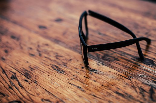 Wooden, Table, Eyewear, Black, Sunglasses