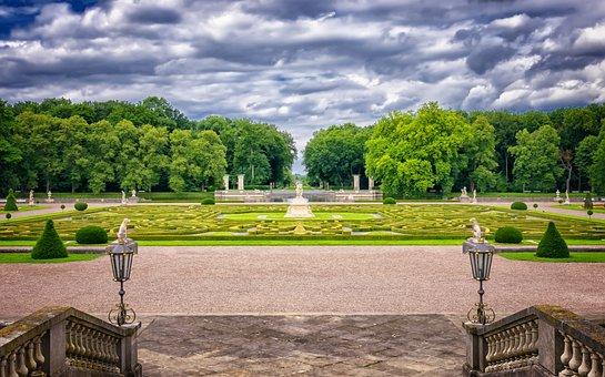 Park, Baroque, Historically, Schlossgarten, Castle Park