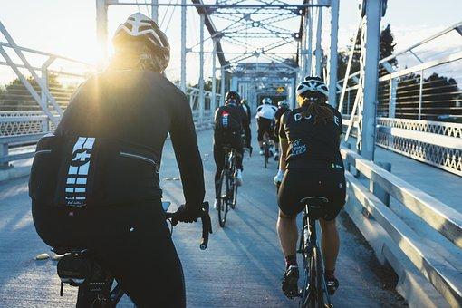 People, Man, Woman, Bike, Bicycle, Bikers, Cyclist