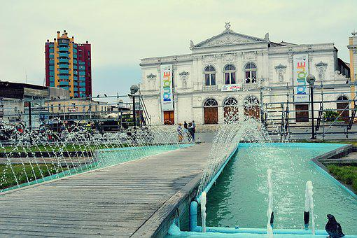 Plaza, City, Tourism, Monument