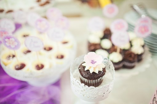 Cupcake, Toppers, Cream, Icing, Dessert, Food, Party