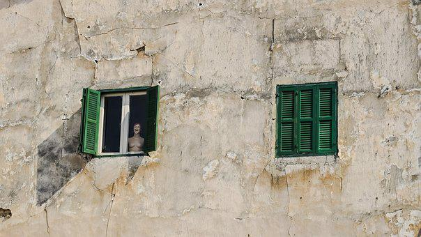 Humans Wanted, Doll, Window, Loneliness, Seclusion
