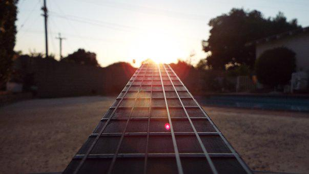 Guitar, Future, Pathway, Optimism, Music, Instrument