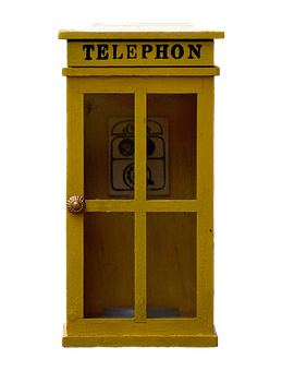 Phone Booth, Call, Phone, Communication, Message