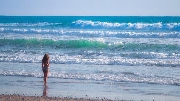 Sea, Ocean, Blue, Water, Waves, Nature, Beach, Coast