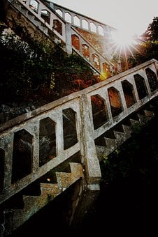 Path, Stairs, Staircase, Stairway, Adventure, Dark