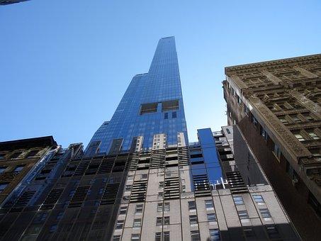 New York, Building, Gratte Ciel, One 57, Portzamparc