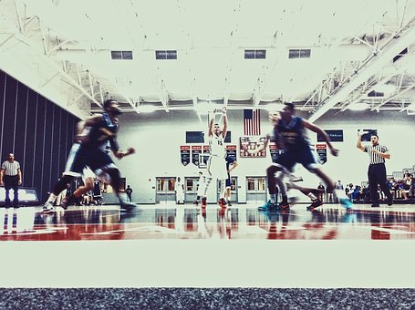 Sport, Venue, Basketball, Game, Player, Court, People