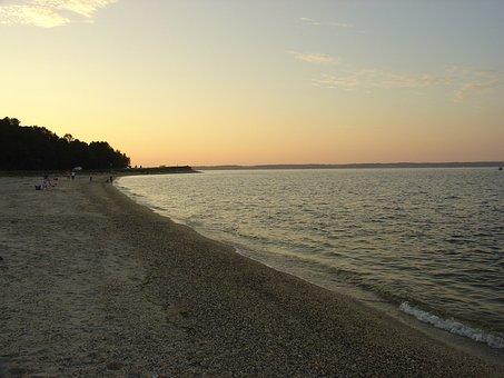 Empty Beach, Seashore, Coast, Beach, Empty, Shore