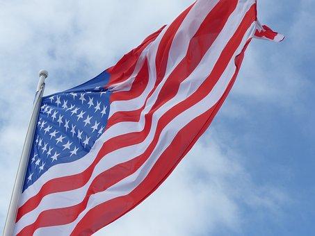 Flag, American, American Flag, Usa, Stars, America