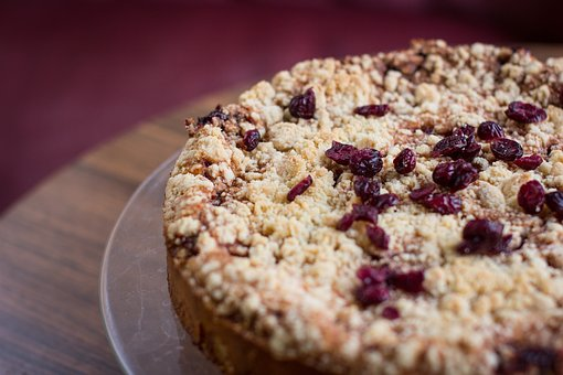 Cake, Pie, Dessert, Food, Raisin, Sweets