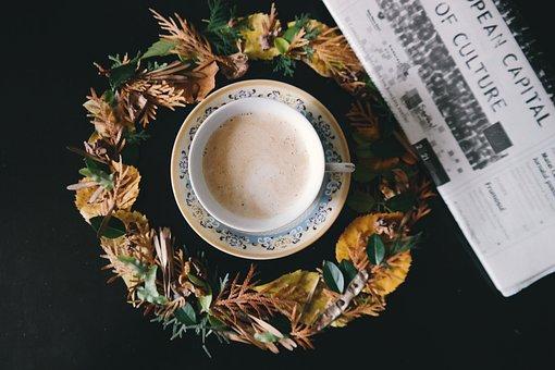 Coffee, Cafe, Art, Latte, Morning, Hot, Drink, Magazine