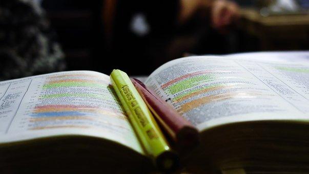Book, Marker, Reading