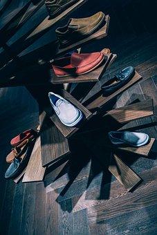 Shoe, Rack, Shelf, Footwear, Sneakers, Floor, Store