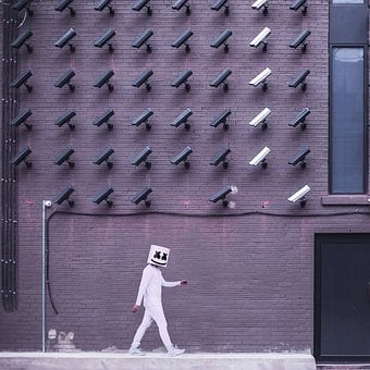 Building, Wall, Structure, Cctv, Security, Camera