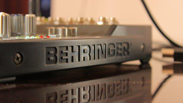 Behringer, Product, Stereo, Amplifier, Sounds, Music