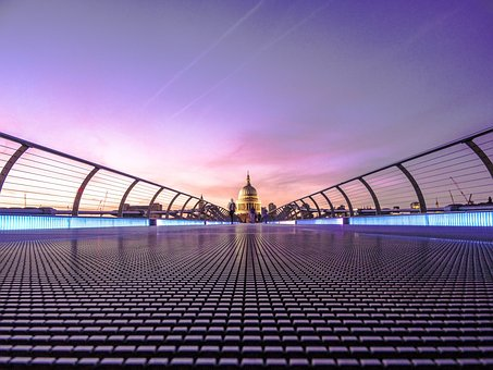 Architecture, Building, Infrastructure, Lights, Sky