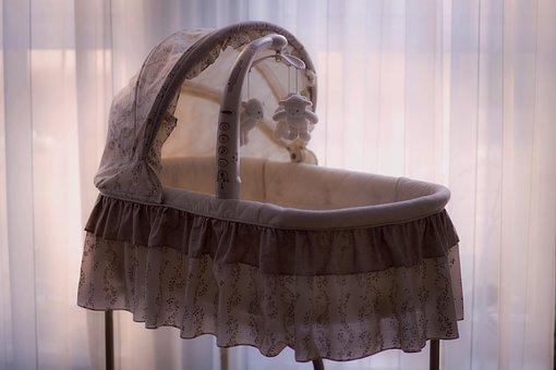 Room, Curtain, Bassinet, Baby, Cradle