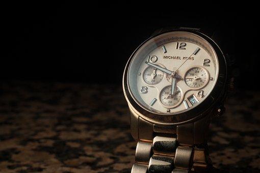 Watch, Bracelet, Metal, Steel, Accessory, Dark, Black