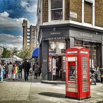 London, Telephone Booth, Uk