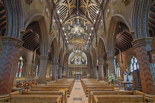 Architecture, Building, Infrastructure, Church, Bench