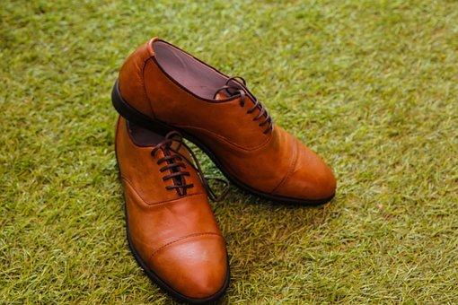 Brown, Shoe, Footwear, Leather, Green