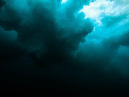 Sea, Ocean, Blue, Water, Diving