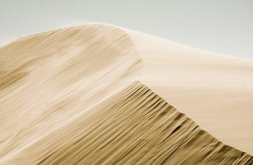 Sand, Desert, Landscape, View, Highland
