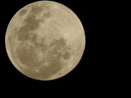 Moon, The Moon, Full Moon, Night Sky, Nature, Vampire