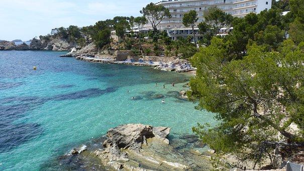 Summer, Sun, Vacations, Holidays, Sea, Water, Mallorca