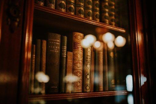 Books, Library, Novel, Knowledge, Rack, Glass