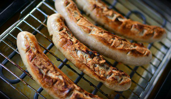 Grill Sausage, Barbecue, Grilling, Sausage, Bratwurst