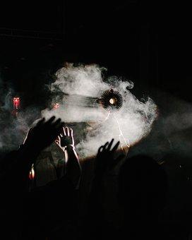 Light, Praise, Cross, Monstrance, Hands, Worship