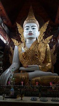 Buddha, Myanmar, Temple, Burmese, Architecture